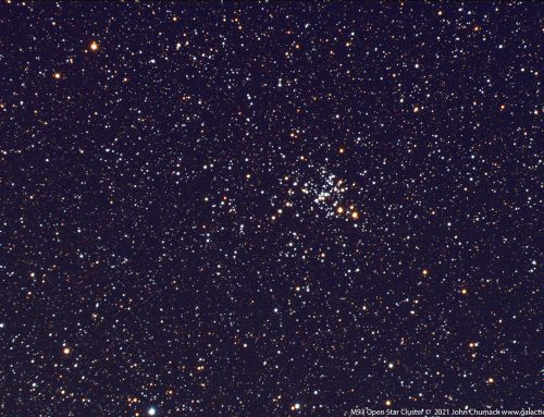 M93 Open Star Cluster