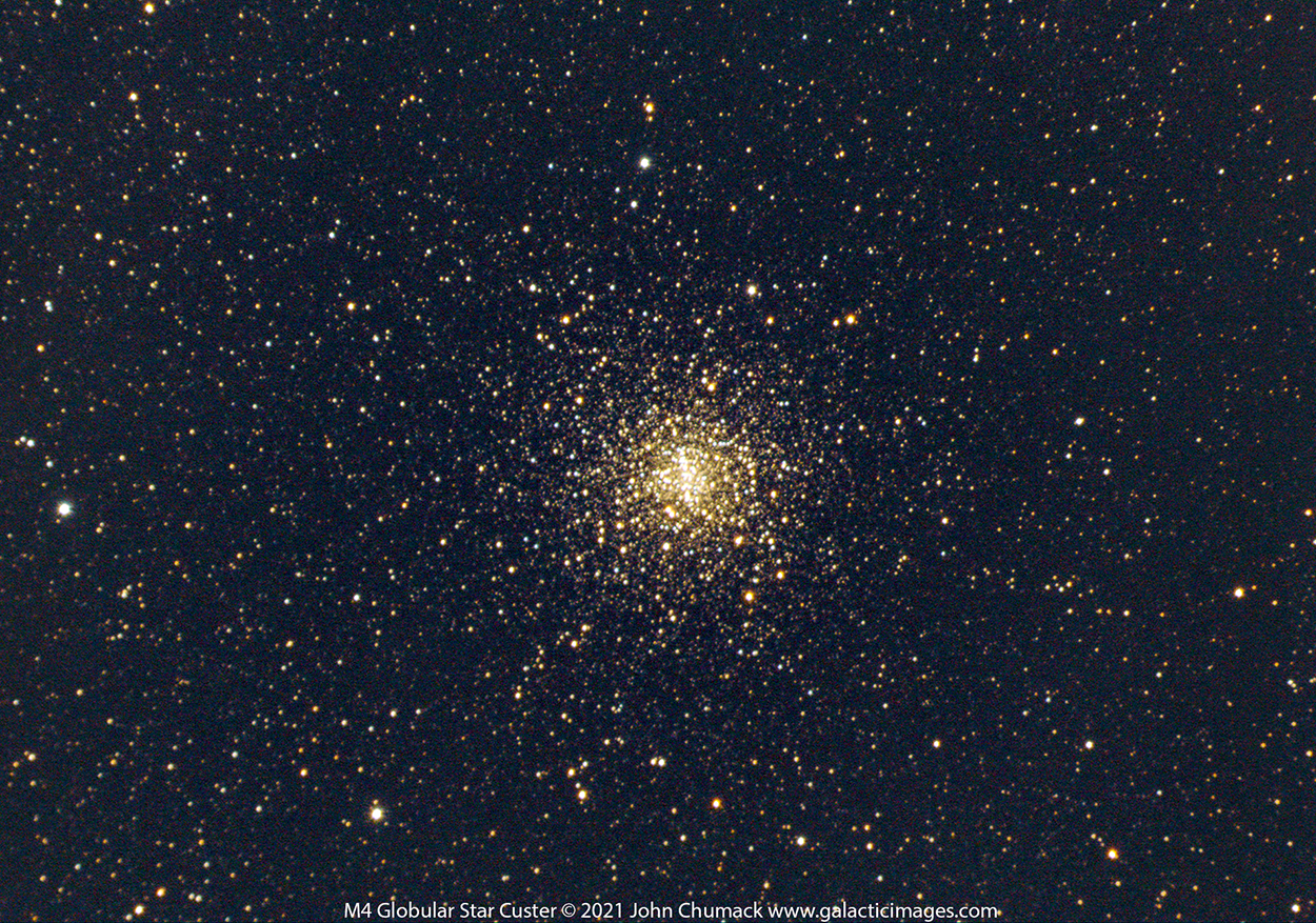 M4 Globular Star Cluster in Scorpius