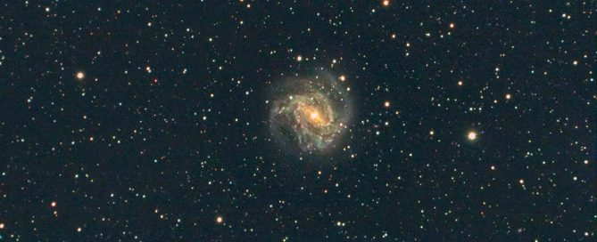 M83 Spiral Galaxy - The Southern Pinwheel