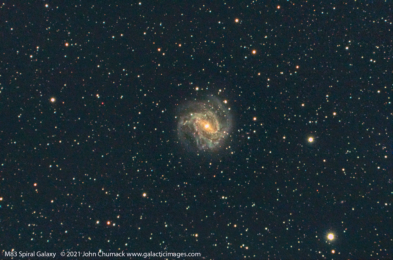 M83 Spiral Galaxy - The Southern Pinwheel