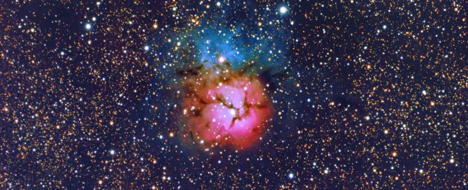 M20 The Trifid Nebula in Sagittarius