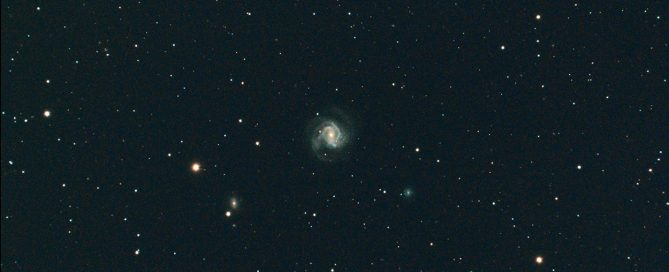 M61 Barred Spiral Galaxy in Virgo