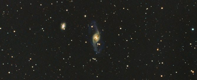 NGC3718 Lenticular Galaxy and Hickson 56 galaxy Group