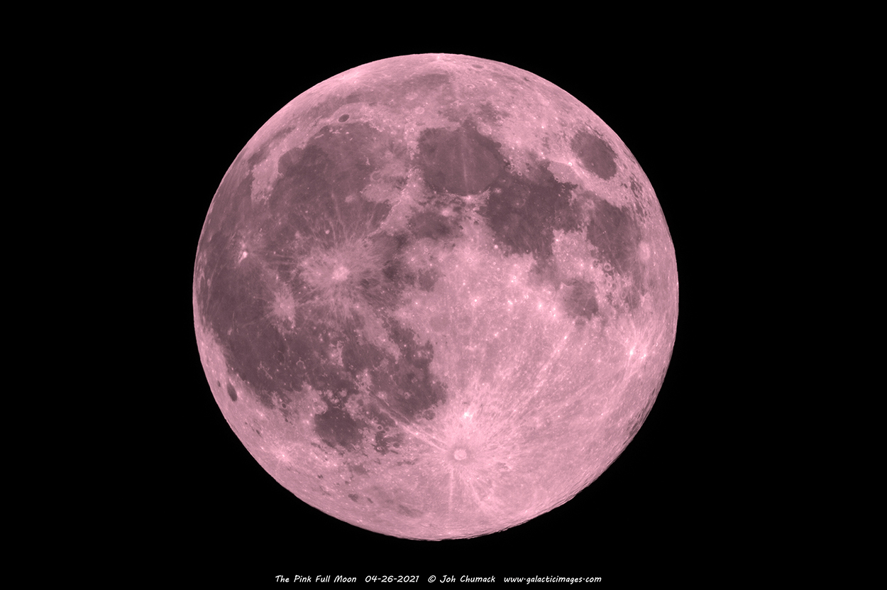 The Pink Super Full Moon