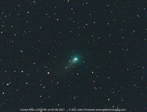 Comet Atlas c/2020 R4 on 05-06-2021