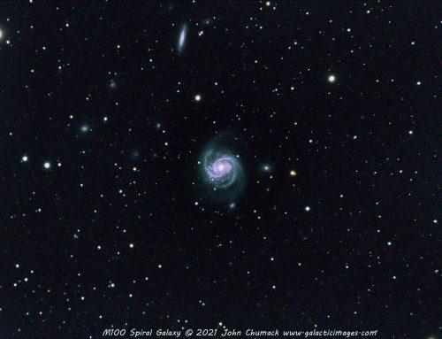 M100 Spiral Galaxy 05-13-2021