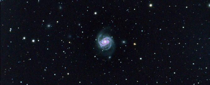 M100 Spiral Galaxy
