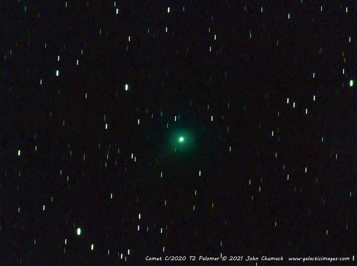 Comet C/2020 T2 Palomar on 05-31-2021