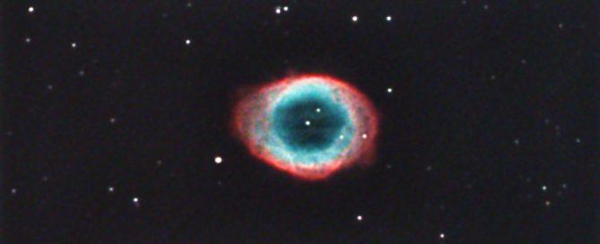 M57 The Ring Nebula Close-up