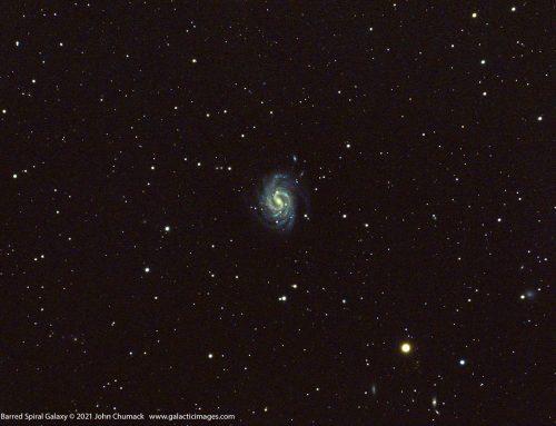 "NGC4535 Spiral Galaxy In Virgo – ""The Lost Galaxy"""