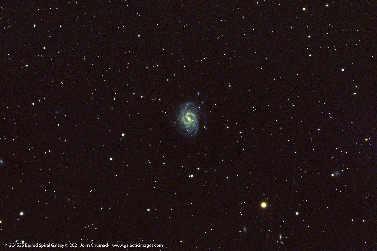 NGC4535 Spiral Galaxy In Virgo