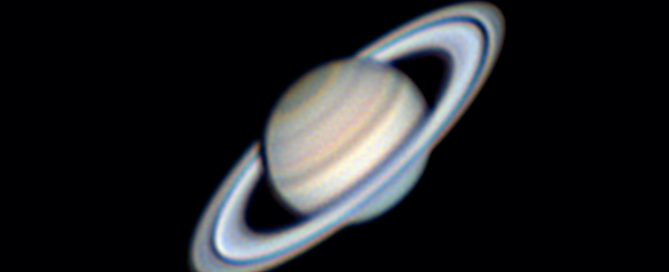 A closer look at Saturn's Cloudtops and Ring System