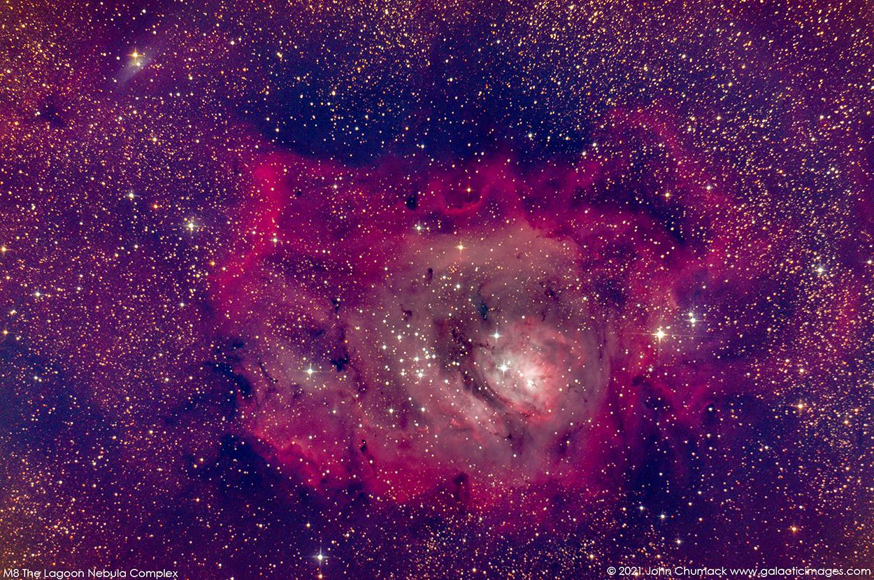 M8 The Lagoon Nebula Complex in Sagittarius