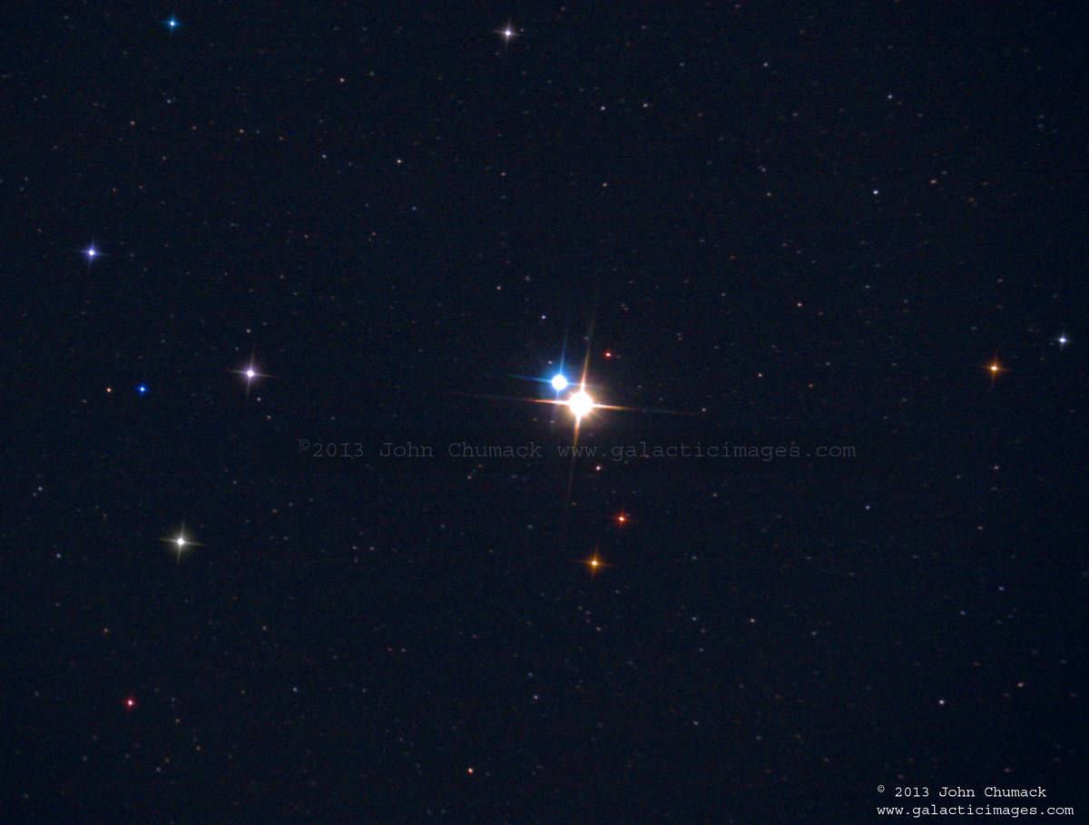 Albireo, Beta Cygni Double Star