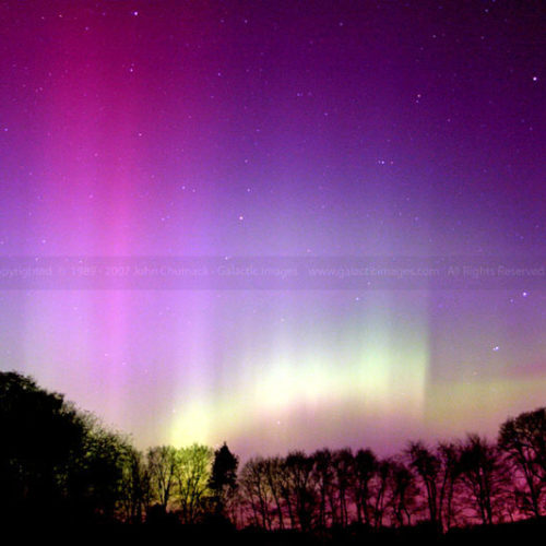 Aurora Borealis photo with Big Dipper