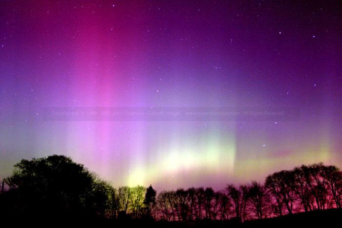 Aurora Borealis photo with Big Dipper