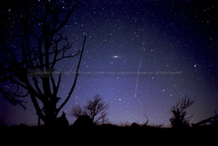 Comet Bradfield Photos & Andromeda Galaxy