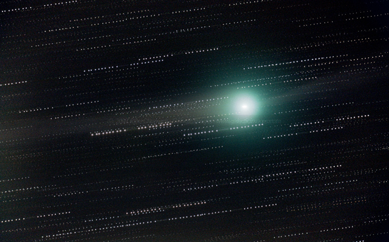Comet Lulin Photos - Close-up