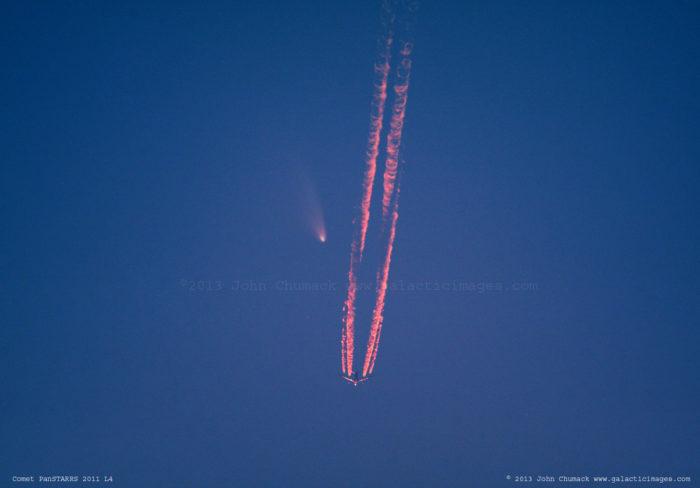 Comet PanSTARRS Photos (2011 L4) #1