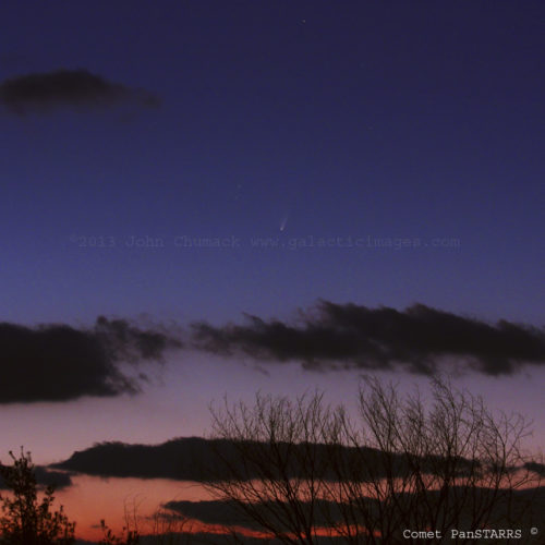 Comet PanSTARRS Photos (2011 L4) #3