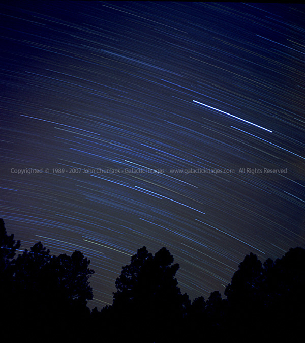 Star Trails Photos 1 hour
