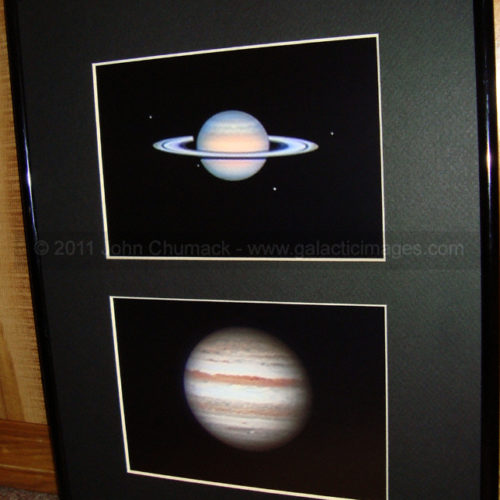 Gas Giants - Saturn & Jupiter