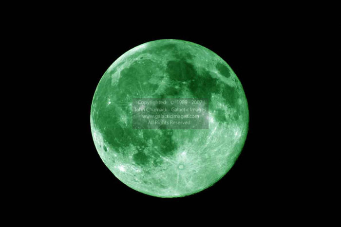 Green Full Moon Photos