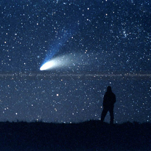 Comet Hale-Bopp photo & John