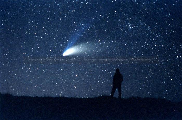 Comet Hale-Bopp photo & John