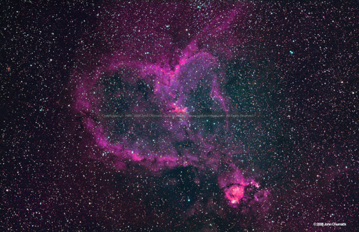 IC 1805 The Heart Nebula Photos