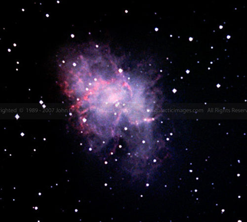 M1 The Crab Nebula photo - Taurus Zodiac