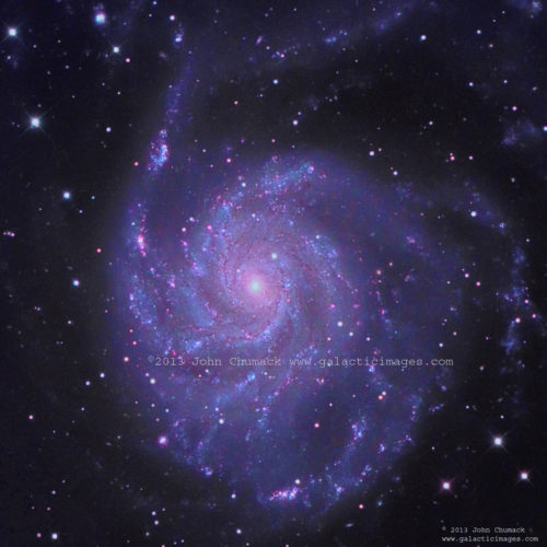M101 Pinwheel Galaxy Photos