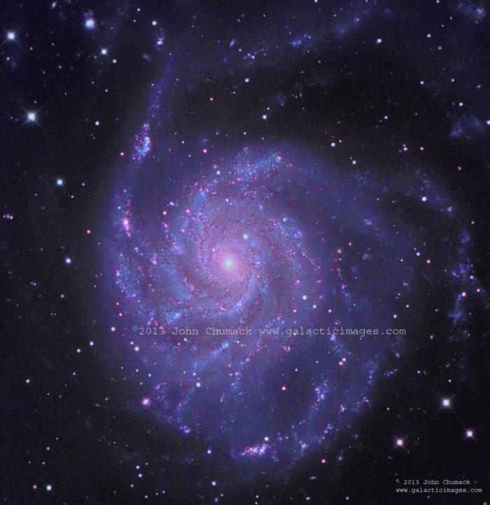 M101 Pinwheel Galaxy Photos