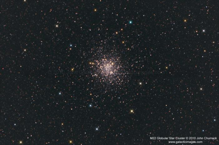 M22 Globular Star Cluster Photos