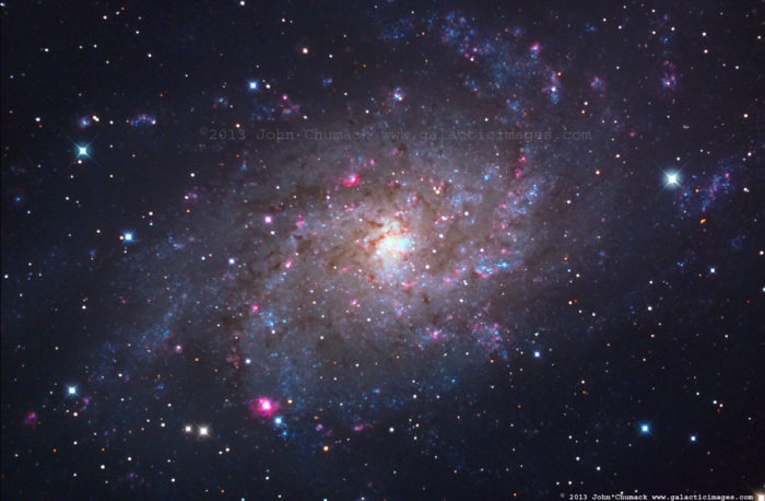 M33 Spiral Galaxy Photos