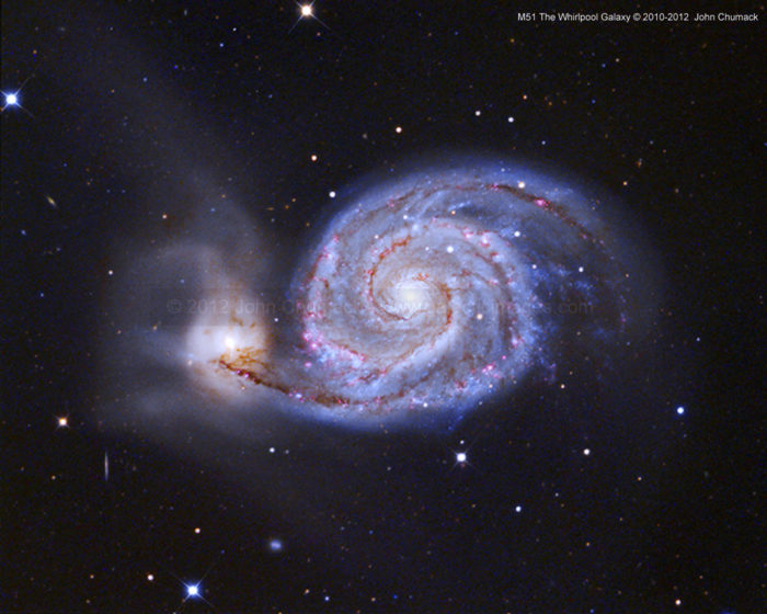 M51 The Whirlpool Spiral Galaxy Photos