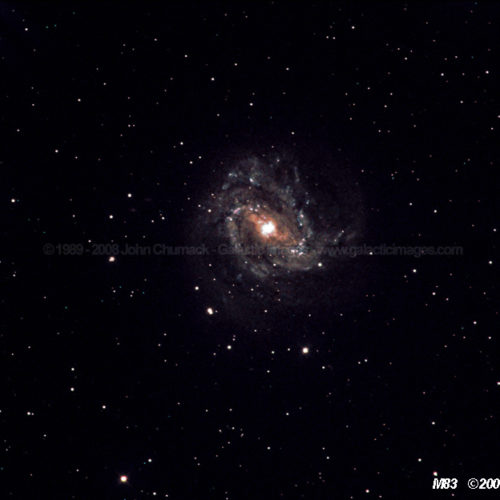 M83 Spiral Galaxy Photos