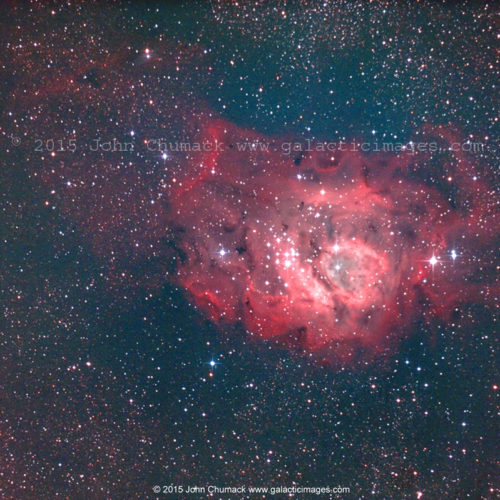 M8 The Lagoon Emission Nebula Photo