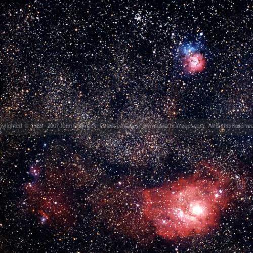 M8 & M20 Sagittarius photos - Sagittarius Zodiac