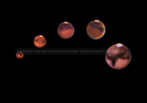 Mars Sequence Photos