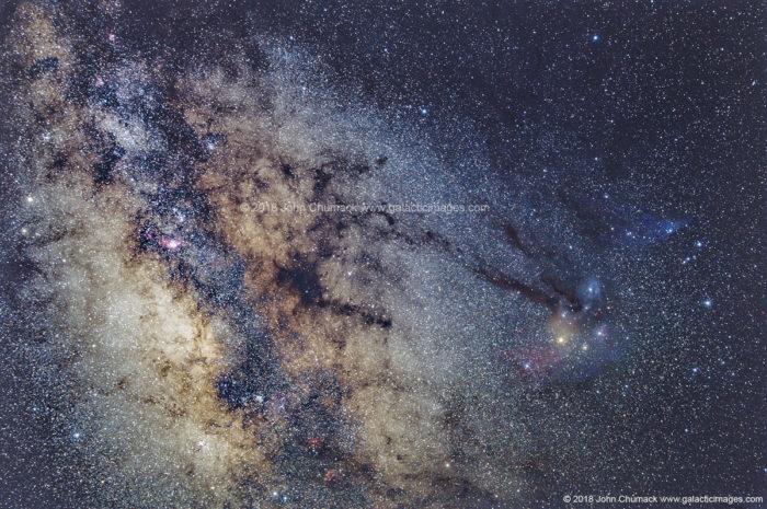 Galactic Center -Rho Ophiuchi