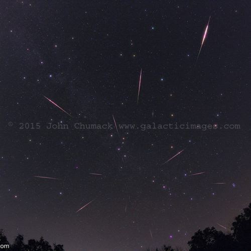 Perseid Meteor Shower Photos