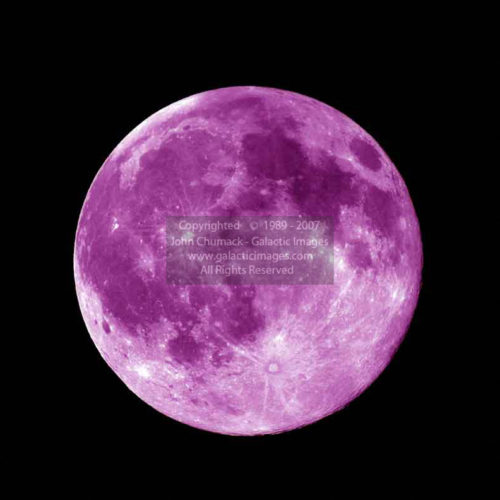 Purple Full Moon Photos