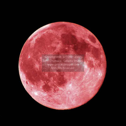 Red Full Moon Photos