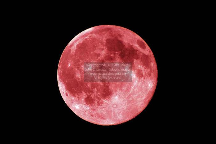 Red Full Moon Photos