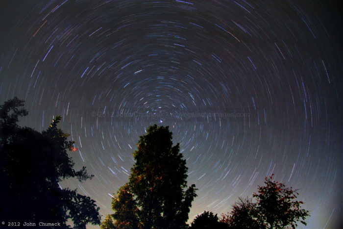 Polaris & Circumpolar Star Trails 30 minute Photos