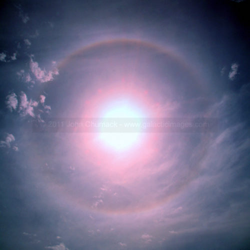 Solar Halo - Full 22 degree OKC