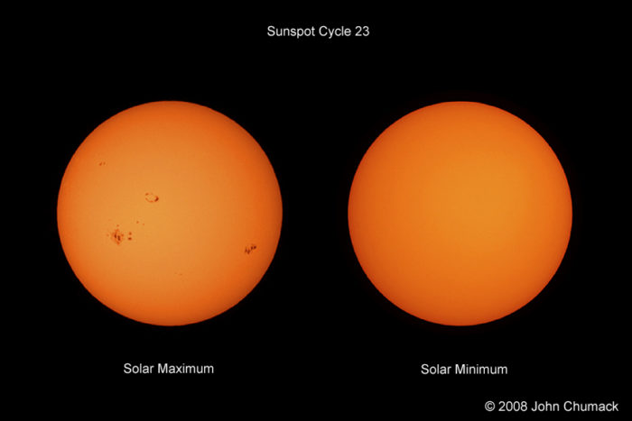 Solar Max & Solar Min Photos