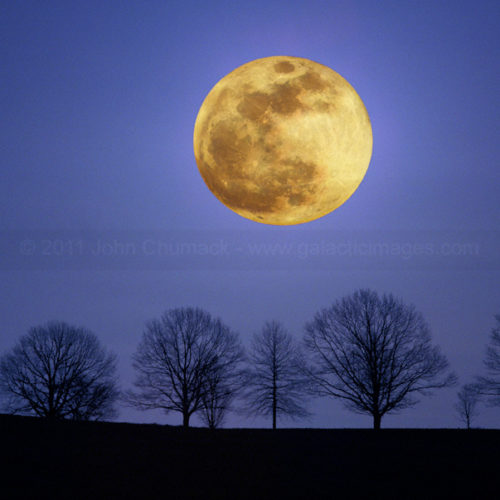 Super Full Moon Photos - Big Moon Photos