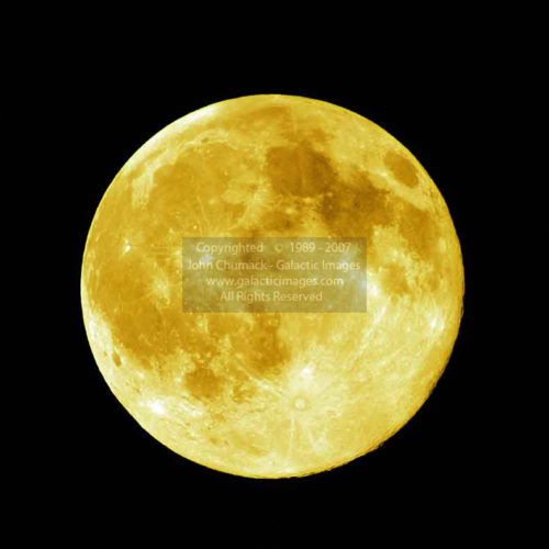 Yellow Full Moon Photos